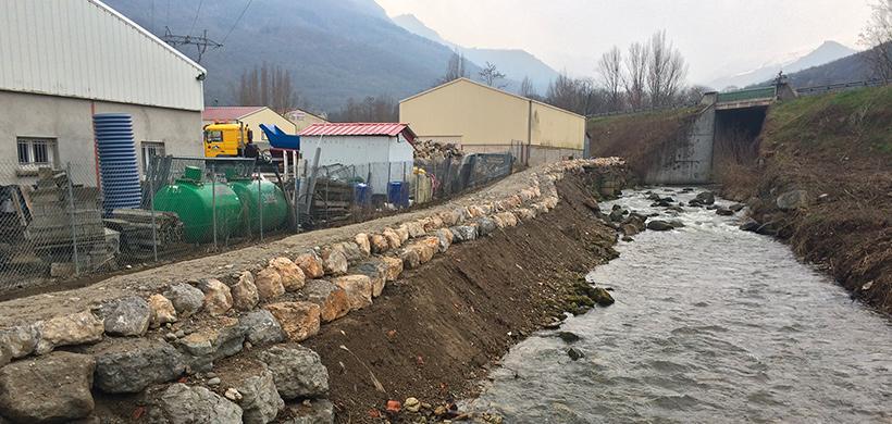 Travaux aménagement Tarascon bord de rivière