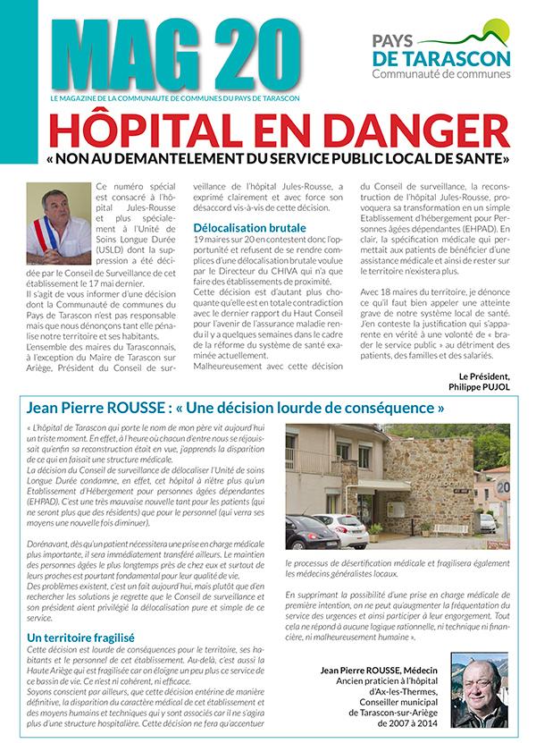 MAG20 – Spécial hôpital
