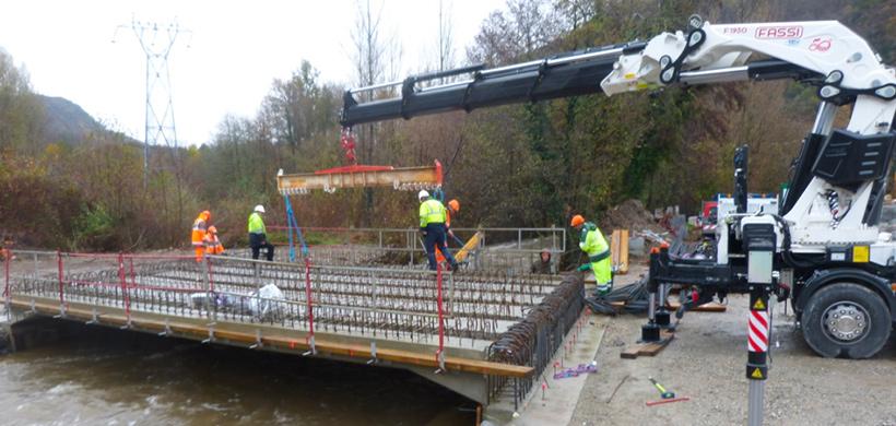 Travaux aménagement Tarascon pont