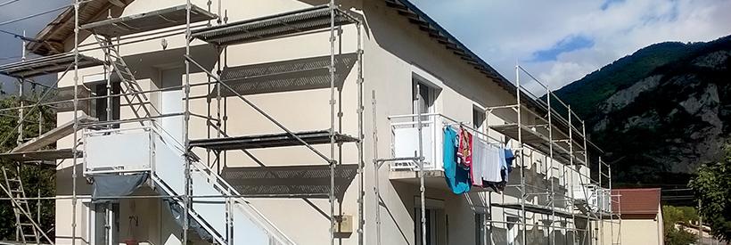 Bâtiment en rénovation
