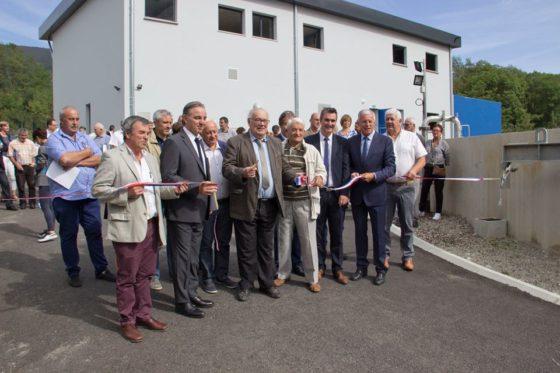 Inauguration de la nouvelle station d'épuration du Pays de Tarascon