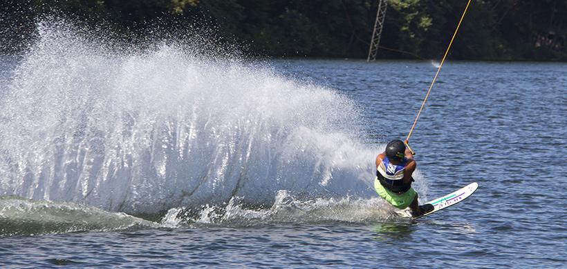 base nautique de mercus - wakeboard