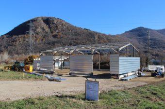 Zone d'activités de Prat-Long : première construction !