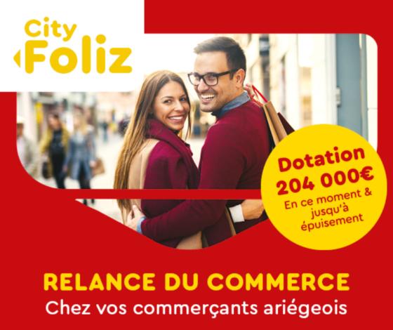 """""""CITY FOLIZ"""" : L'OPÉRATION COMMERCIALE 100% POUVOIR D'ACHAT !"""