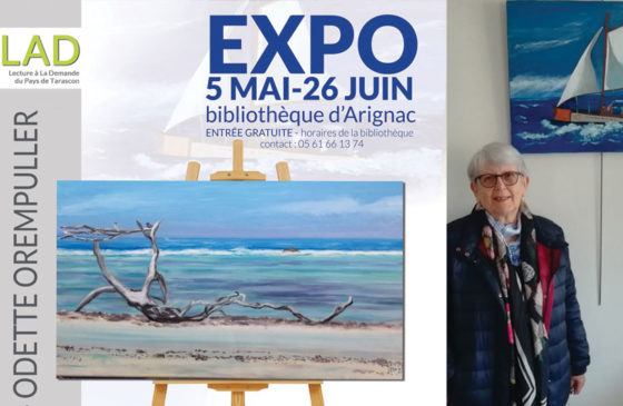 BIBLIOTHÈQUE D'ARIGNAC : EXPOSITION DE PEINTURE