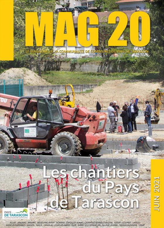 """MAG20 EST EN LIGNE : """"LES CHANTIERS DU PAYS DE TARASCON"""""""