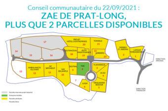 CONSEIL COMMUNAUTAIRE DU 22/09/2021 : LES PRINCIPAUX SUJETS.